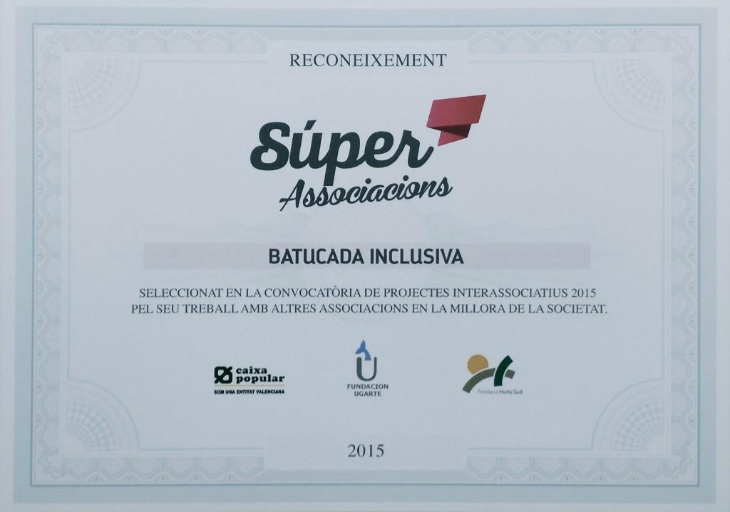 Premio Batucada Inclusiva