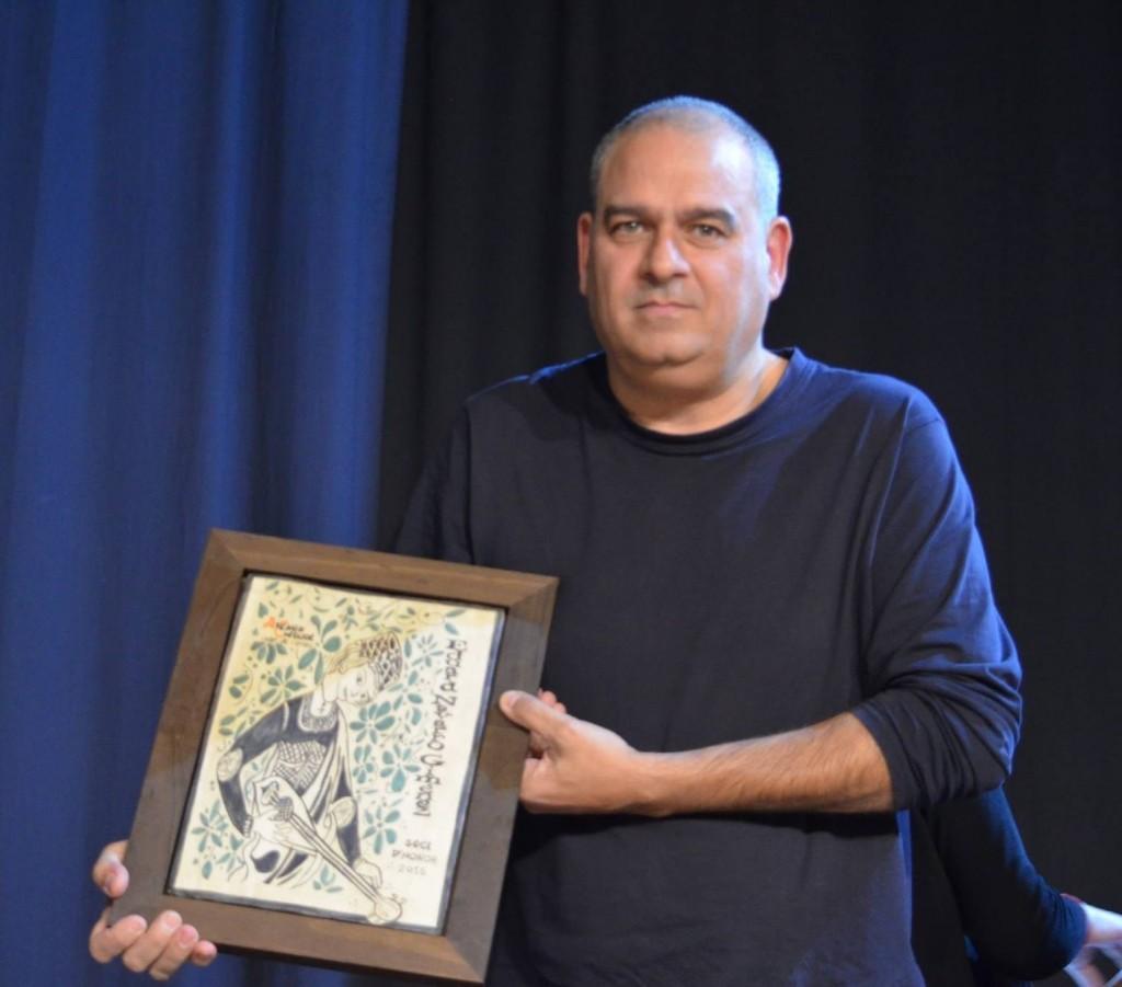 Eduard Navarro. Socio de Honor 2015