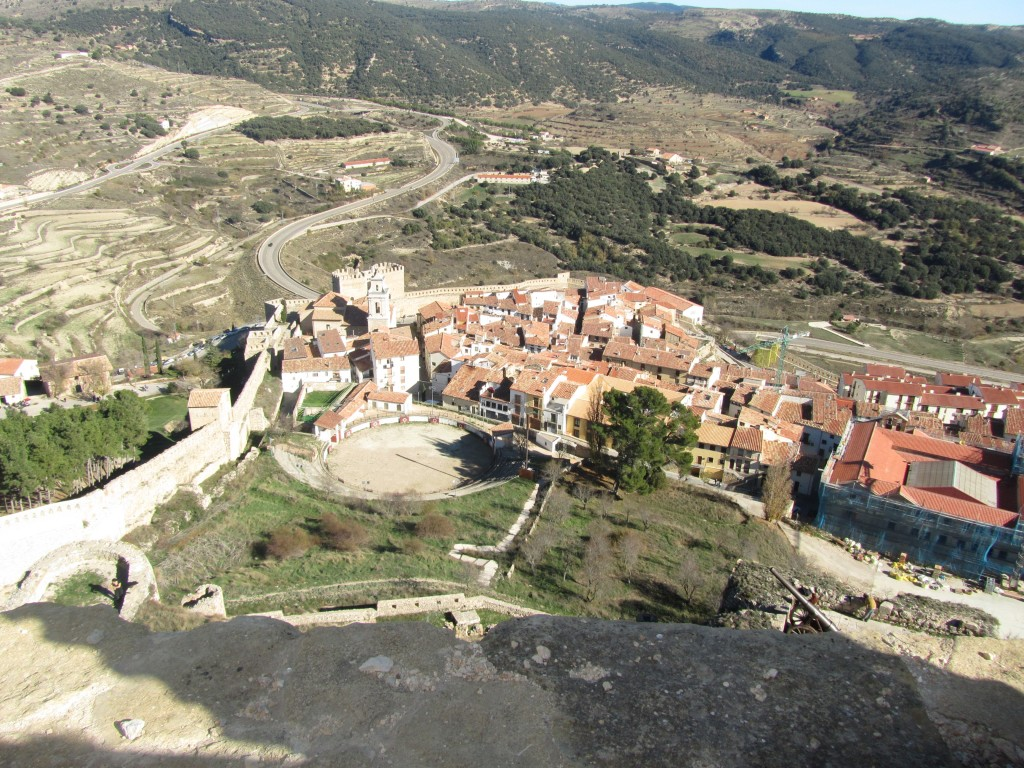 Vistas desde el castillo. Morella