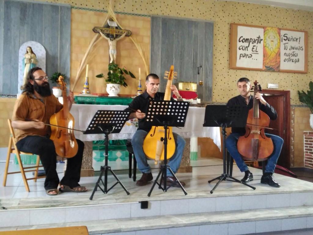 Audición Consort. V SEMANA DE LA MÚSICA.