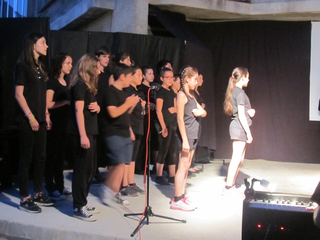 """Musical """"La libertad silenciada"""". Coro Joven. V SEMANA DE LA MÚSICA."""