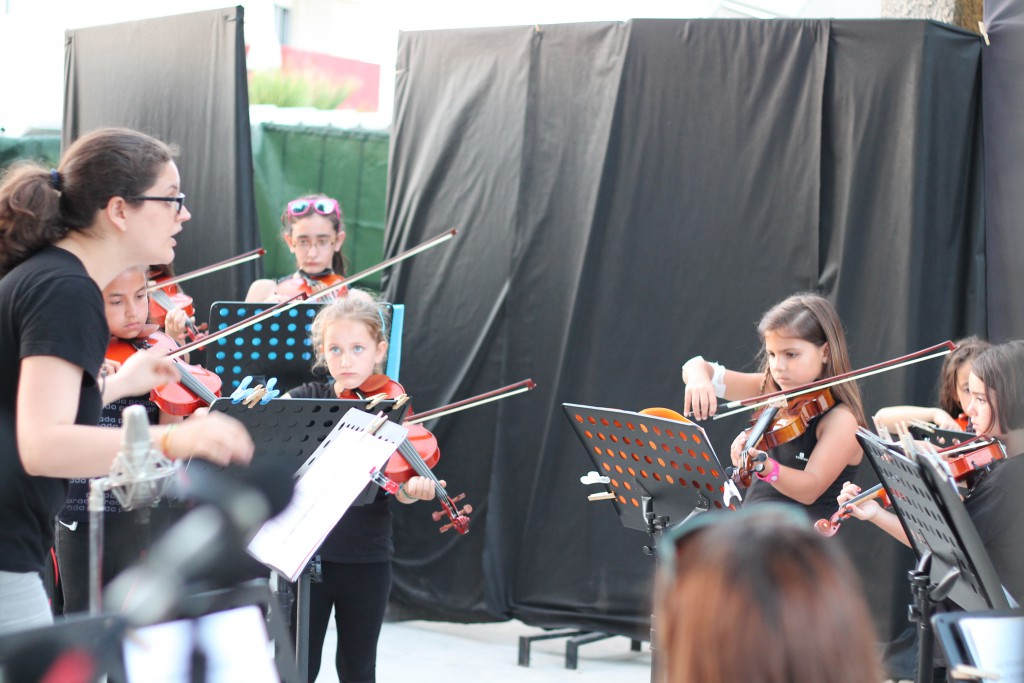 Audición Conjunto de Cuerda. V SEMANA DE LA MÚSICA.