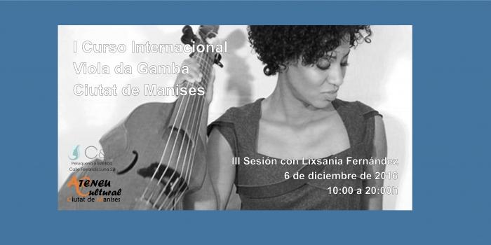 Sesión III – Curso Viola Da Gamba