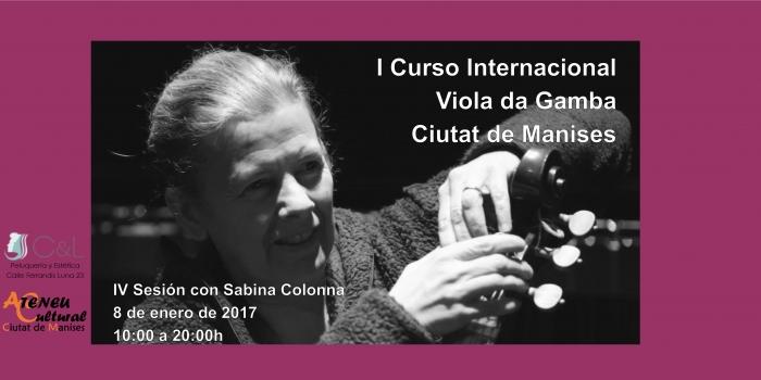 Sesión IV – Viola Da Gamba