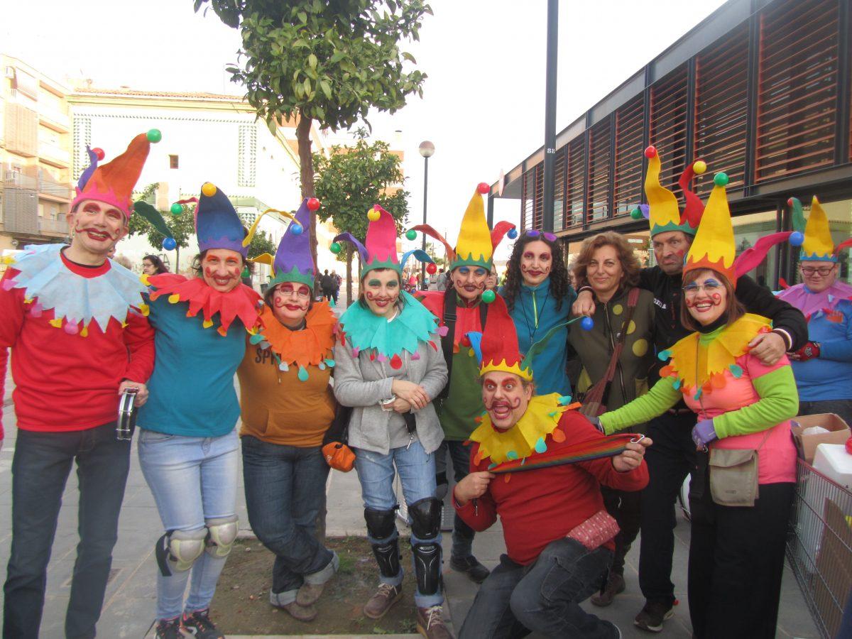 Carnaval 2017 Casa Canaria. Batucada. Ateneu Cultural Ciutat de Manises.