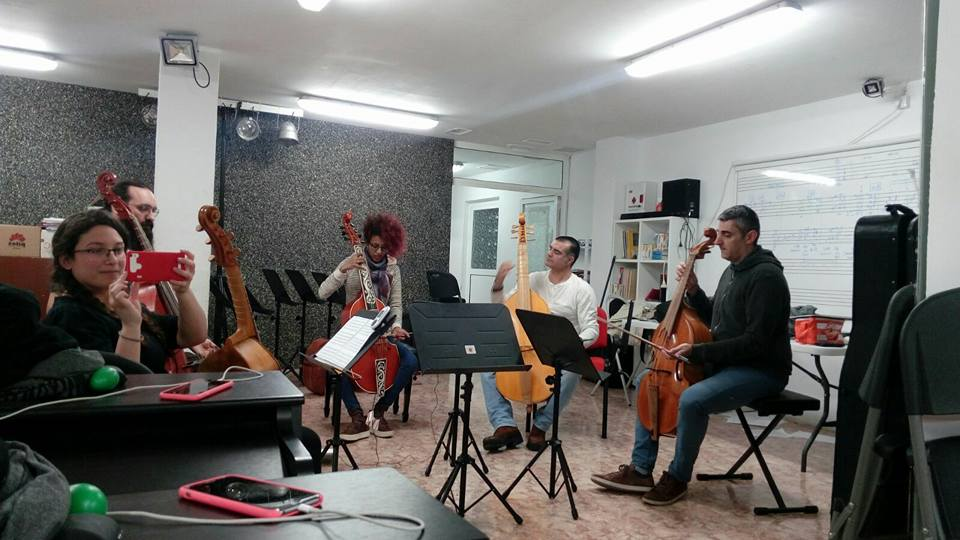 Sesión VI- Viola Da Gamba
