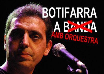 Concierto Botifarra con orquesta