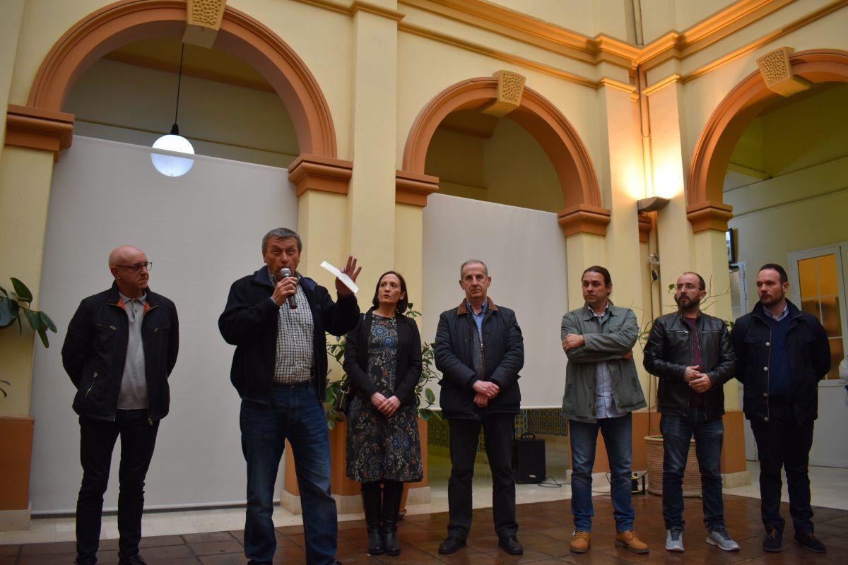 Inauguración de las exposición Cartas de la República. Manises. Ateneu Cultural Ciutat de Manises.