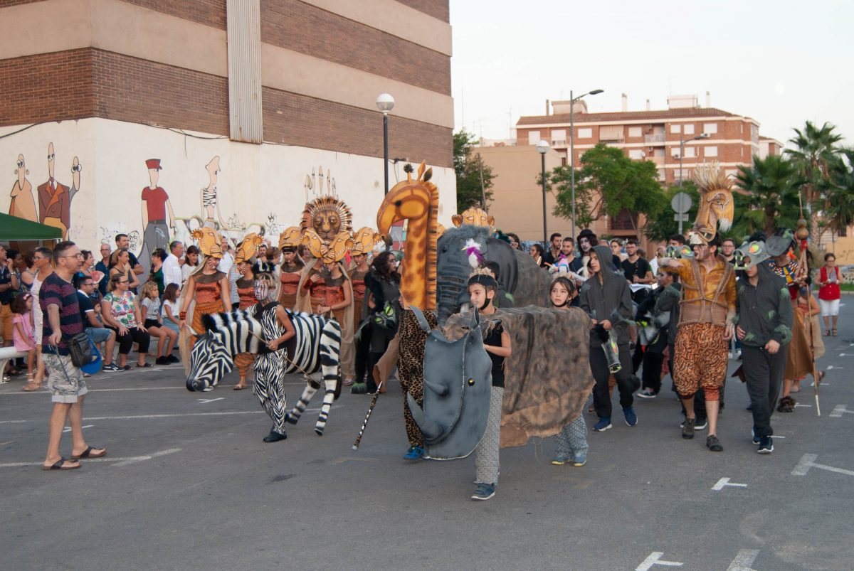 Imagen Pasacalle Rey León