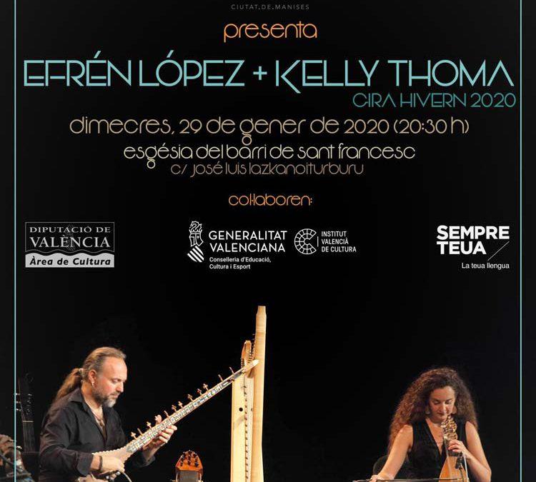 Concierto Efrén López y Kelly Thoma